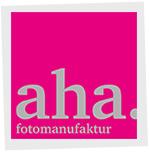 Logo -  aha-Fotomanufaktur